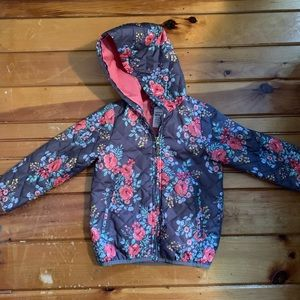 Girl's lightweight hooded jacket, Carter's 5/6